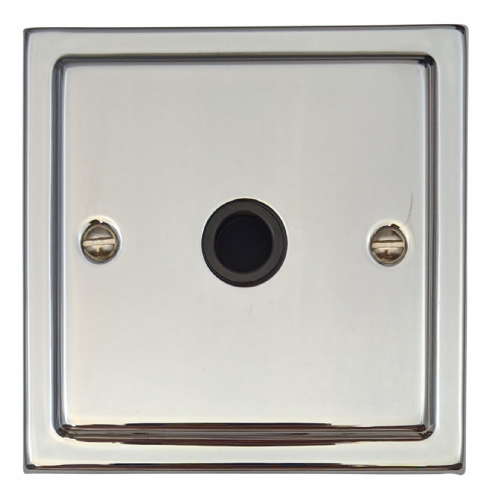 G&H TC79B Trimline Plate Polished Chrome 1 Gang Flex Outlet Plate
